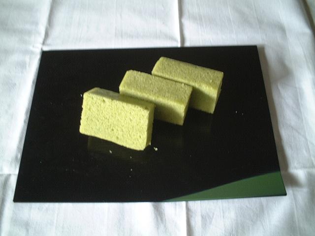 板かるかん(抹茶)